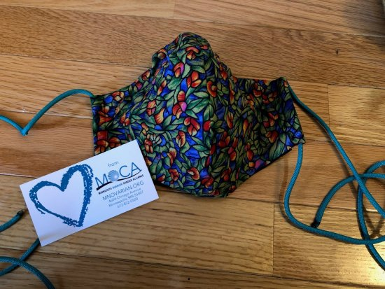 Masks With Love From Moca For Ovarian Cancer Survivors Moca